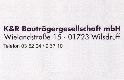 37-K & R-Bauträger
