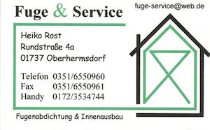 30-Fuge& Service Heiko-Rost
